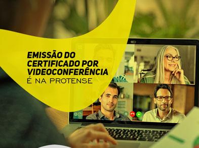 EMISSÃO/RENOVAÇÃO <BR>POR VIDEOCONFERÊNCIA